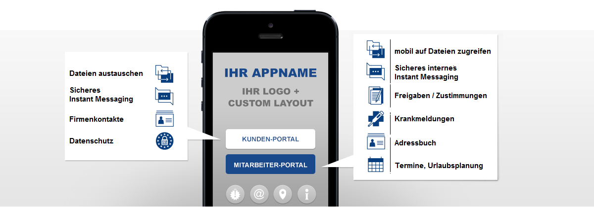 Unternehmens-App